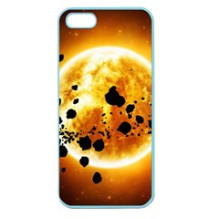 Sun Man Apple Seamless Iphone 5 Case (color) by Sapixe