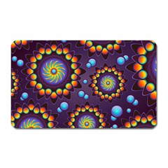 Texture Background Flower Pattern Magnet (rectangular) by Sapixe