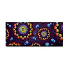 Texture Background Flower Pattern Cosmetic Storage Cases by Sapixe