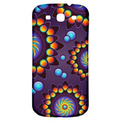 Texture Background Flower Pattern Samsung Galaxy S3 S Iii Classic Hardshell Back Case by Sapixe