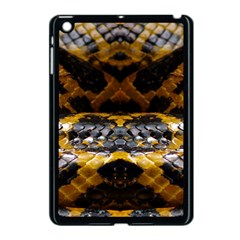Textures Snake Skin Patterns Apple Ipad Mini Case (black) by Sapixe