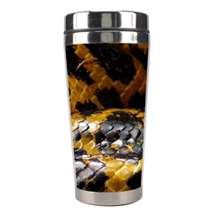 Textures Snake Skin Patterns Stainless Steel Travel Tumblers