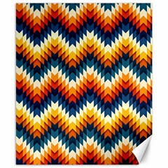 The Amazing Pattern Library Canvas 8  X 10  by Sapixe