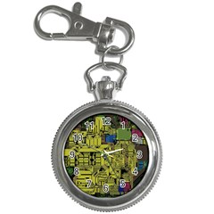 Technology Circuit Board Key Chain Watches by Sapixe