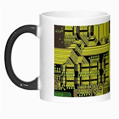 Technology Circuit Board Morph Mugs by Sapixe