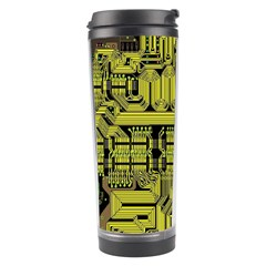 Technology Circuit Board Travel Tumbler by Sapixe