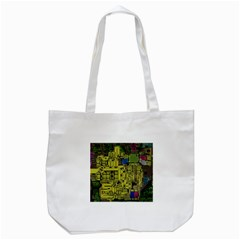 Technology Circuit Board Tote Bag (white)