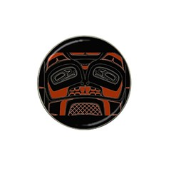 Traditional Northwest Coast Native Art Hat Clip Ball Marker (4 Pack)