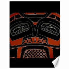 Traditional Northwest Coast Native Art Canvas 36  X 48   by Sapixe