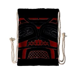 Traditional Northwest Coast Native Art Drawstring Bag (small)