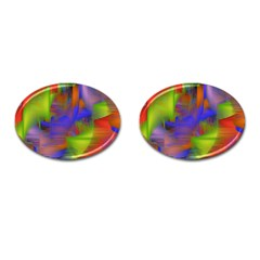Texture Pattern Programming Processing Cufflinks (oval) by Sapixe