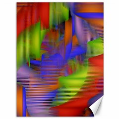 Texture Pattern Programming Processing Canvas 36  X 48   by Sapixe