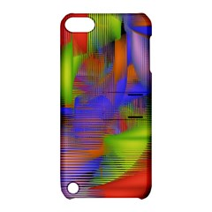 Texture Pattern Programming Processing Apple Ipod Touch 5 Hardshell Case With Stand by Sapixe
