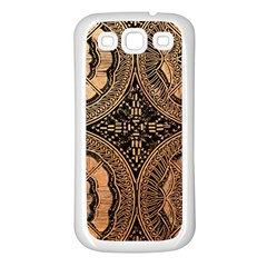 The Art Of Batik Printing Samsung Galaxy S3 Back Case (white) by Sapixe