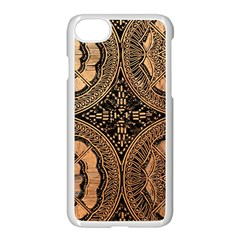 The Art Of Batik Printing Apple Iphone 8 Seamless Case (white)