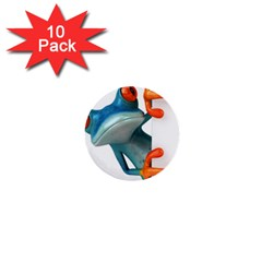 Tree Frog Illustration 1  Mini Buttons (10 Pack)