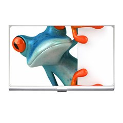 Tree Frog Illustration Business Card Holders by Sapixe