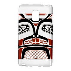 Traditional Northwest Coast Native Art Galaxy Note Edge by Sapixe