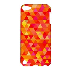 Triangle Tile Mosaic Pattern Apple Ipod Touch 5 Hardshell Case by Sapixe