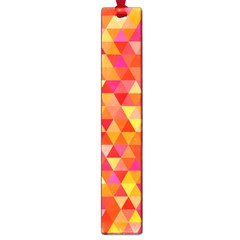 Triangle Tile Mosaic Pattern Large Book Marks