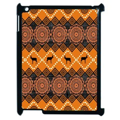 Traditiona  Patterns And African Patterns Apple Ipad 2 Case (black) by Sapixe