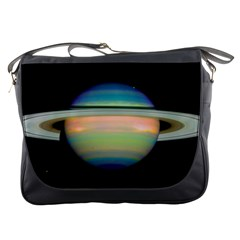 True Color Variety Of The Planet Saturn Messenger Bags