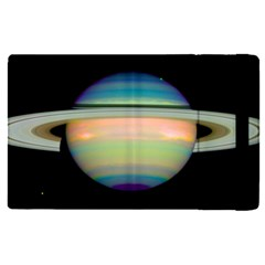 True Color Variety Of The Planet Saturn Apple Ipad Pro 9 7   Flip Case by Sapixe