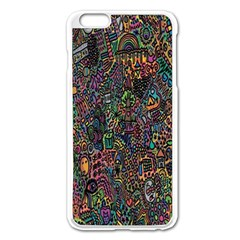 Trees Internet Multicolor Psychedelic Reddit Detailed Colors Apple Iphone 6 Plus/6s Plus Enamel White Case by Sapixe