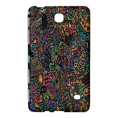 Trees Internet Multicolor Psychedelic Reddit Detailed Colors Samsung Galaxy Tab 4 (7 ) Hardshell Case  by Sapixe