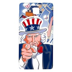 United States Of America Celebration Of Independence Day Uncle Sam Galaxy Note 4 Back Case by Sapixe