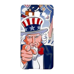United States Of America Celebration Of Independence Day Uncle Sam Samsung Galaxy A5 Hardshell Case