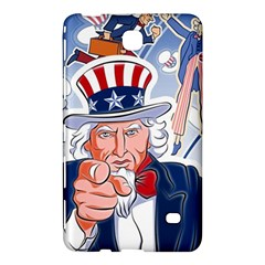 United States Of America Celebration Of Independence Day Uncle Sam Samsung Galaxy Tab 4 (8 ) Hardshell Case  by Sapixe