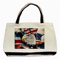United States Of America Images Independence Day Basic Tote Bag (two Sides)