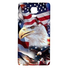 United States Of America Images Independence Day Galaxy Note 4 Back Case by Sapixe