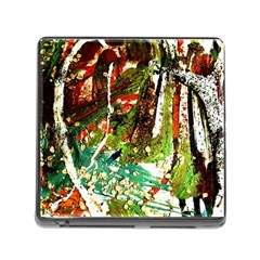 April   Birds Of Paradise Memory Card Reader (square) by bestdesignintheworld
