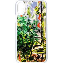 Plant In The Room  Apple Iphone X Seamless Case (white) by bestdesignintheworld