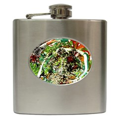 April   Birds Of Paradise 5 Hip Flask (6 Oz) by bestdesignintheworld