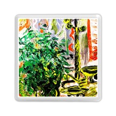 Dscf2188    Plant In The Room Memory Card Reader (square)  by bestdesignintheworld