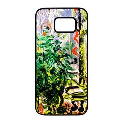 Dscf2188 -- Plant In The Room Samsung Galaxy S7 Edge Black Seamless Case by bestdesignintheworld