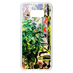 Dscf2188 -- Plant In The Room Samsung Galaxy S8 Plus White Seamless Case by bestdesignintheworld