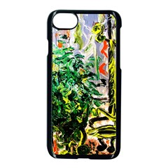 Dscf2188    Plant In The Room Apple Iphone 8 Seamless Case (black) by bestdesignintheworld