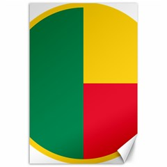 Air Force Roundel Of Benin Canvas 24  X 36  by abbeyz71