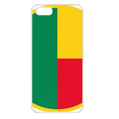 Air Force Roundel Of Benin Apple Iphone 5 Seamless Case (white) by abbeyz71