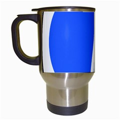 Trans–west African Coastal Highway Shield Travel Mugs (white) by abbeyz71
