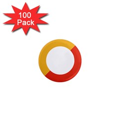 Bhutan Air Force Roundel 1  Mini Magnets (100 Pack)  by abbeyz71