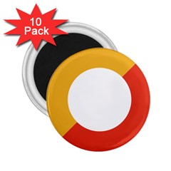 Bhutan Air Force Roundel 2 25  Magnets (10 Pack)