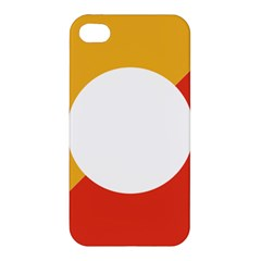 Bhutan Air Force Roundel Apple Iphone 4/4s Premium Hardshell Case by abbeyz71