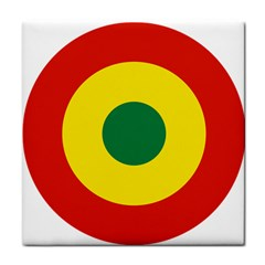 Roundel Of Bolivian Air Force Tile Coasters