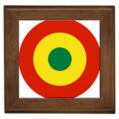 Roundel Of Bolivian Air Force Framed Tiles by abbeyz71