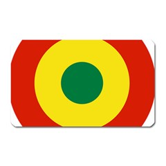 Roundel Of Bolivian Air Force Magnet (rectangular) by abbeyz71